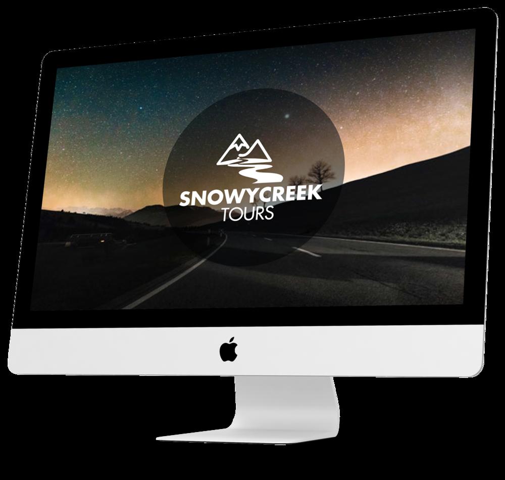 Snowy Creek Tours Brand Identity