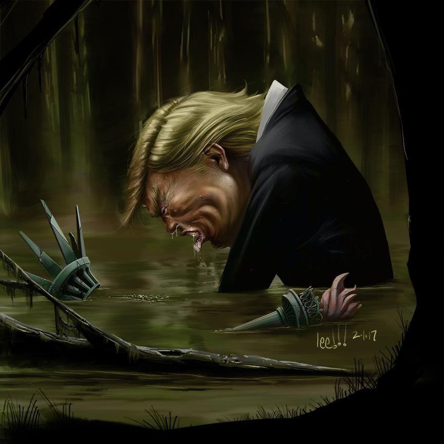 Swamp work