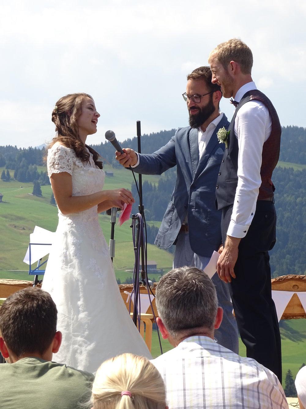 Beim Eheversprechen