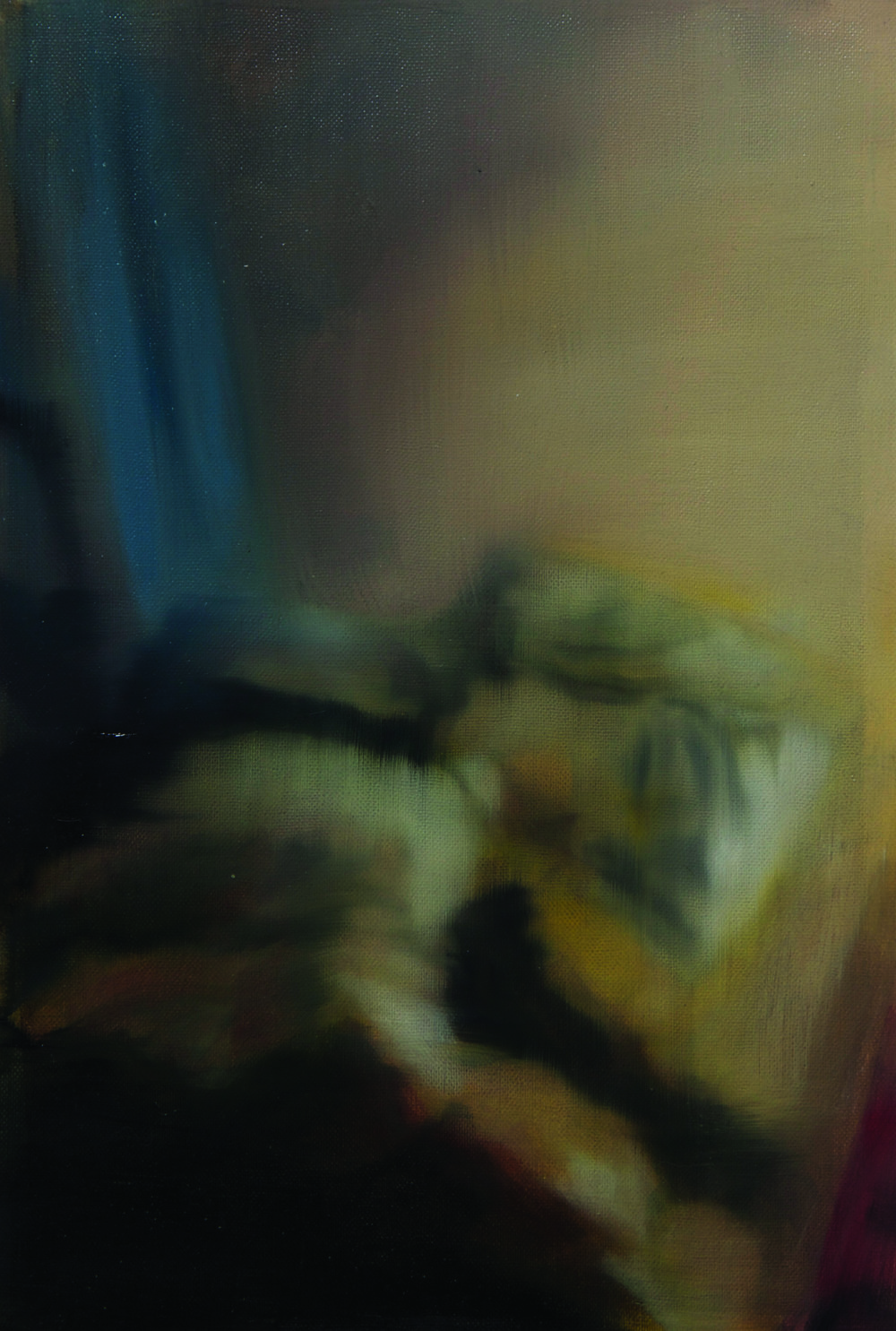 Bed Oil on linen (580x440) 2011