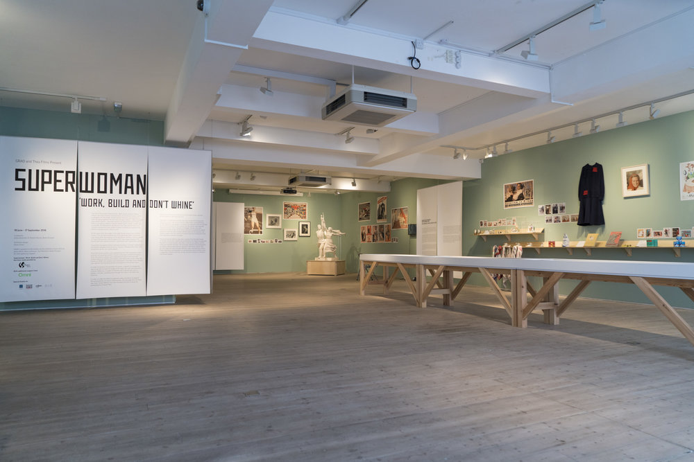 Superwoman: 'Work, Build and Don't Whine' Exhibition