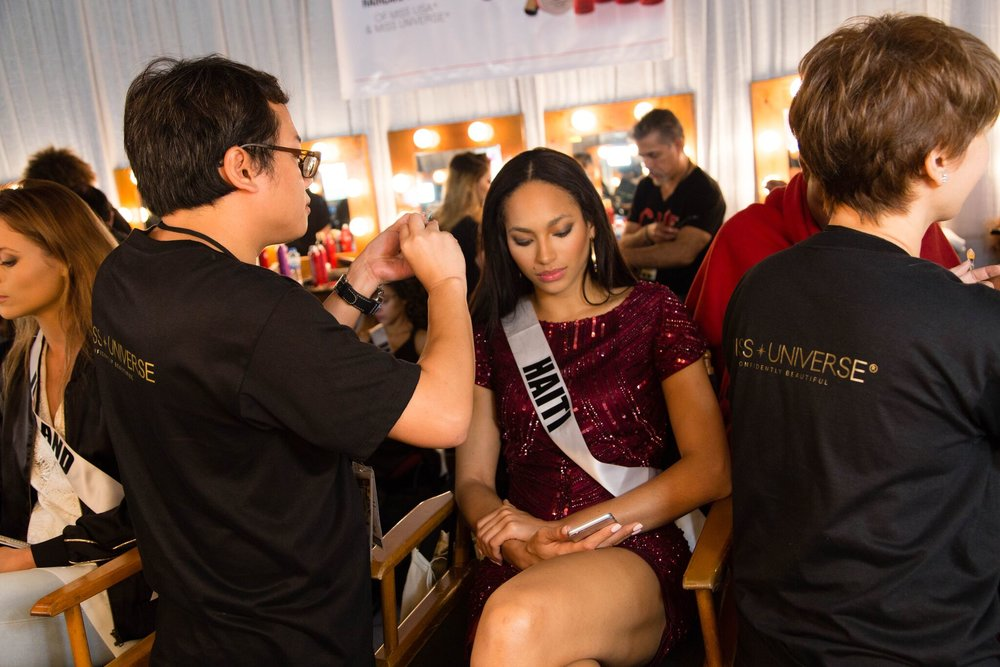 2016 Miss Universe 1st Runner-up, Raquel Pelissier from Haiti, was an instant crowd favorite.
