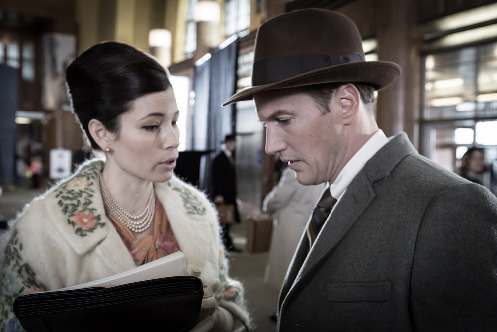 Jessica Biel and Patrick Wilson in A Kind of Murder, OctoArts Films International