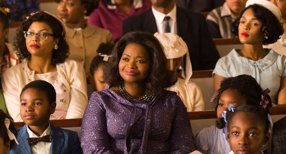 Taraji P. Henson, Octavia Spencer, and Janelle Monae in Hidden Figures, 20th Century Fox