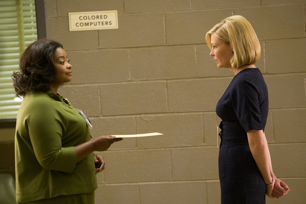 Octavia Spencer and Kirsten Dunst in Hidden Figures, 20th Century Fox
