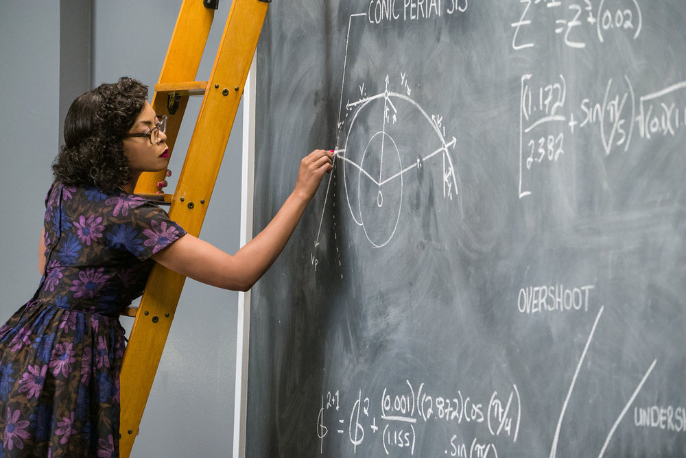 Taraji P. Henson as Katherine Johnson in Hidden Figures, 20th Century Fox