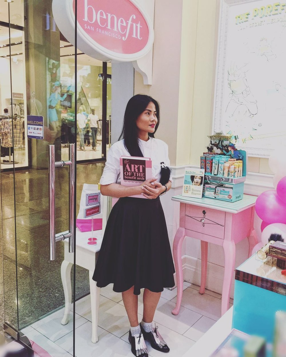 National Brow Artist, Benefit Cosmetics Philippines