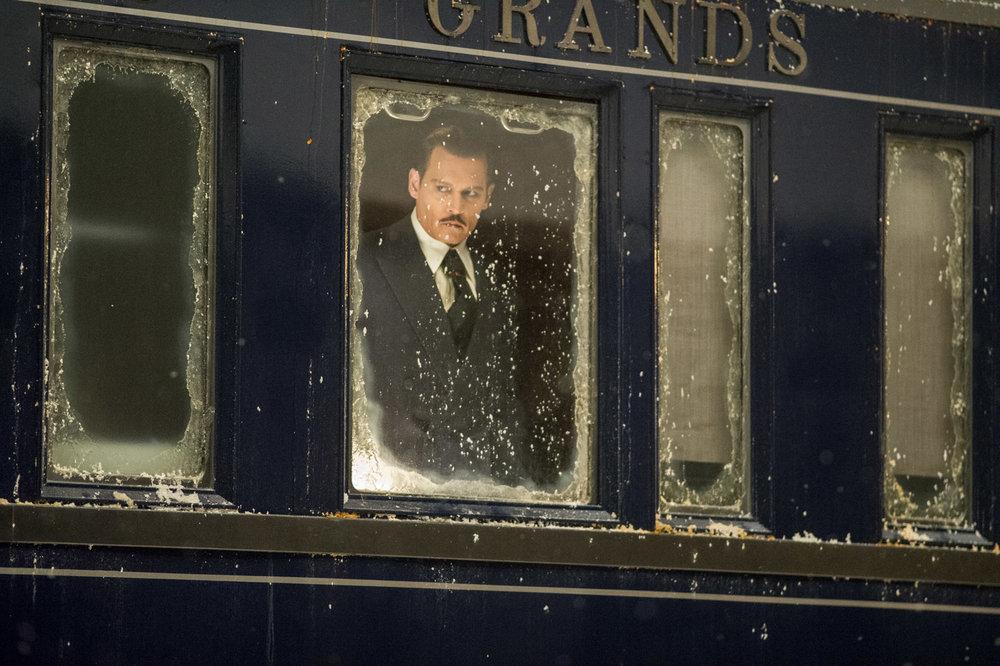 Johnny Depp in Murder on the Orient Express, 20th Century Fox