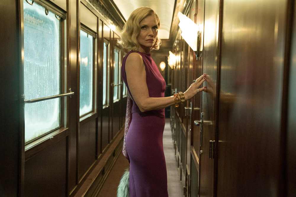Michelle Pfieffer in Murder on the Orient Express, 20th Century Fox
