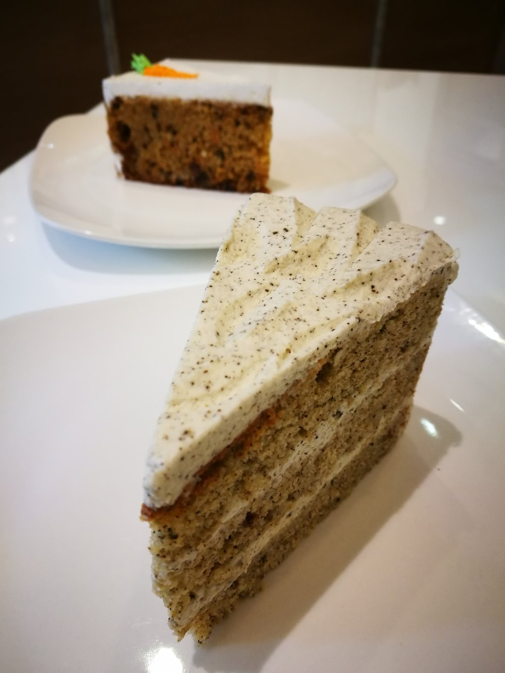 Stick to the Earl Grey Lemon Cake at Ginger Bakery at 55 Johnston Road in Wan Chai. It's their bestseller!