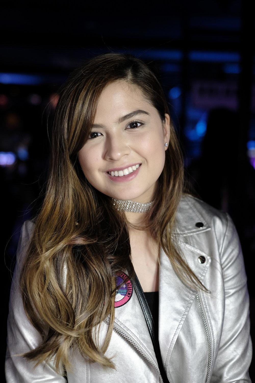 Alexa Ilacad at the BADgal launch