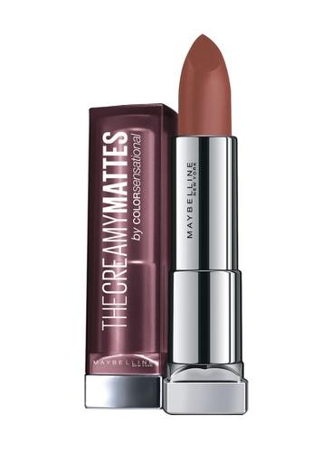 Maybelline    Creamy Matte Lipstick in Nude Nuance
