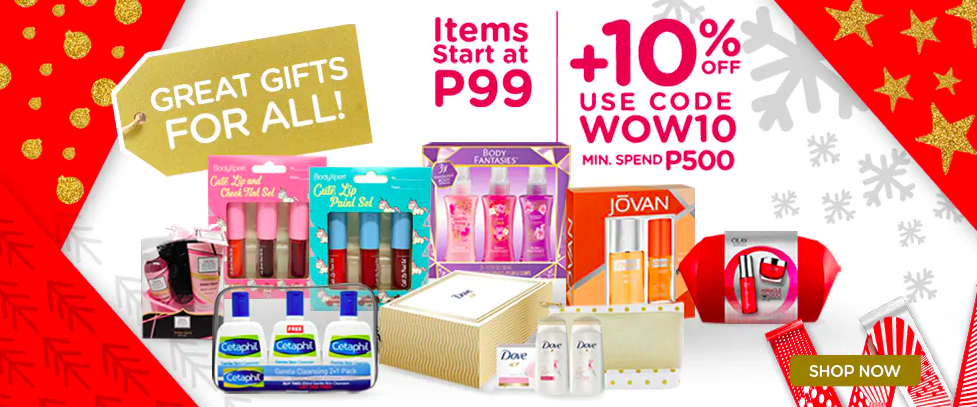 Christmas Gift Sets.Upsize Ph 10 Really Cute Gift Sets From Watsons We