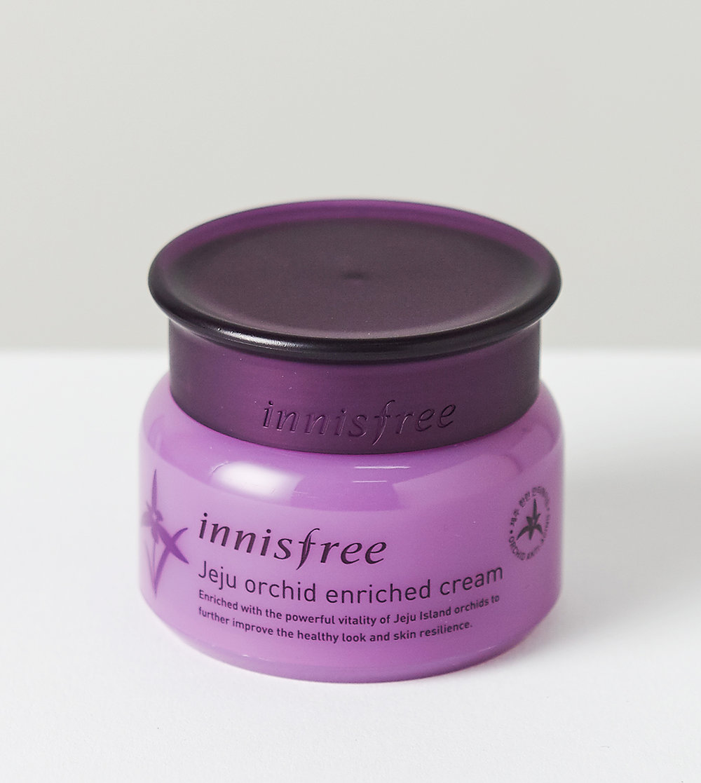 (Innisfree, Jeju Orchid Enriched Cream, P 1,556.20)