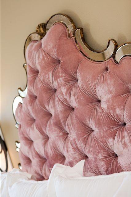Pink-Velvet-Headboard