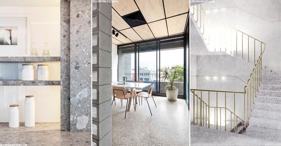 ar teraco mozaikinis betonas taps naujuoju marmuru interjero pasaka interjero dizainas ir. Black Bedroom Furniture Sets. Home Design Ideas