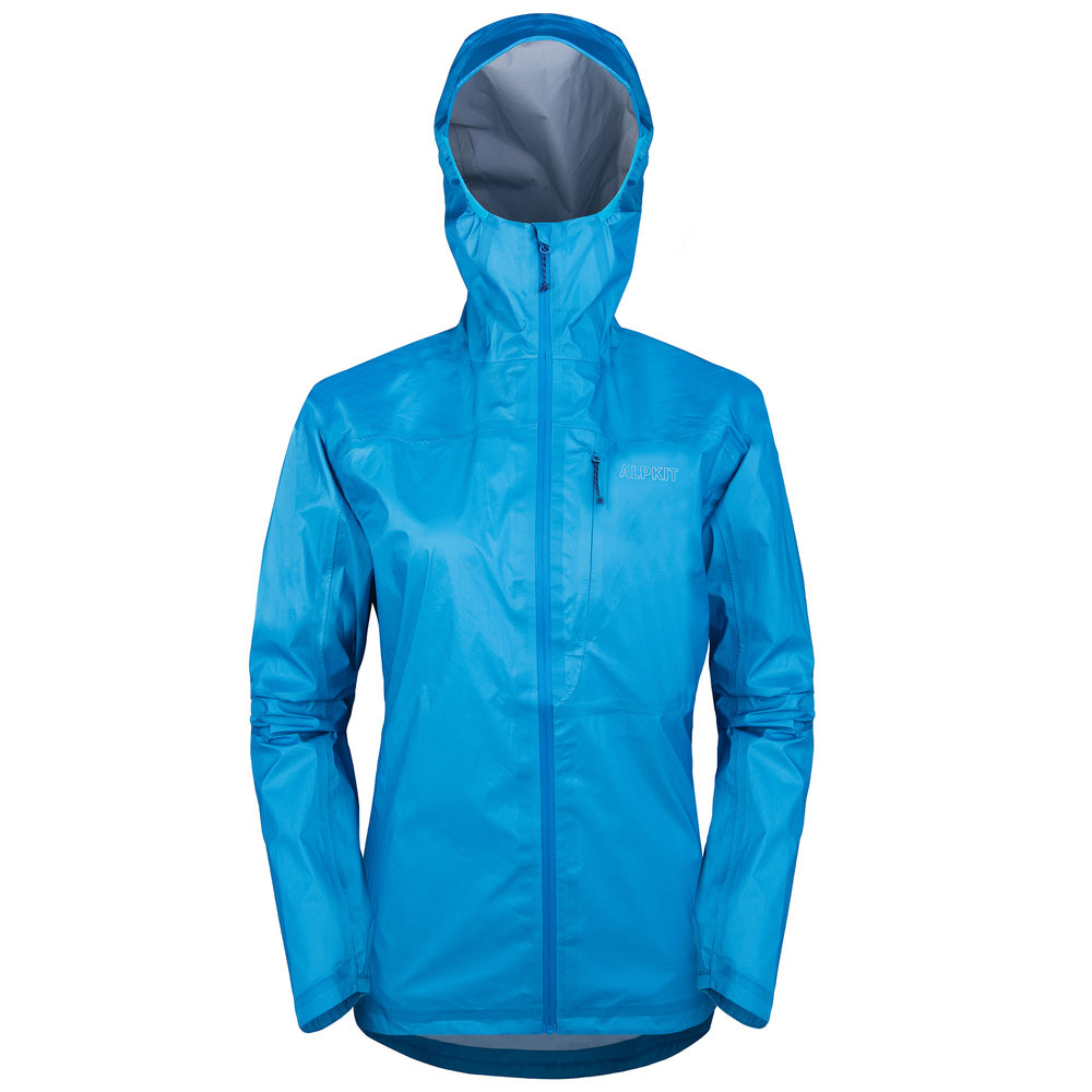 Gravitas - A super lightweight waterproof shell (140g in a women's 12) designed to be used for climbing, running, and hiking