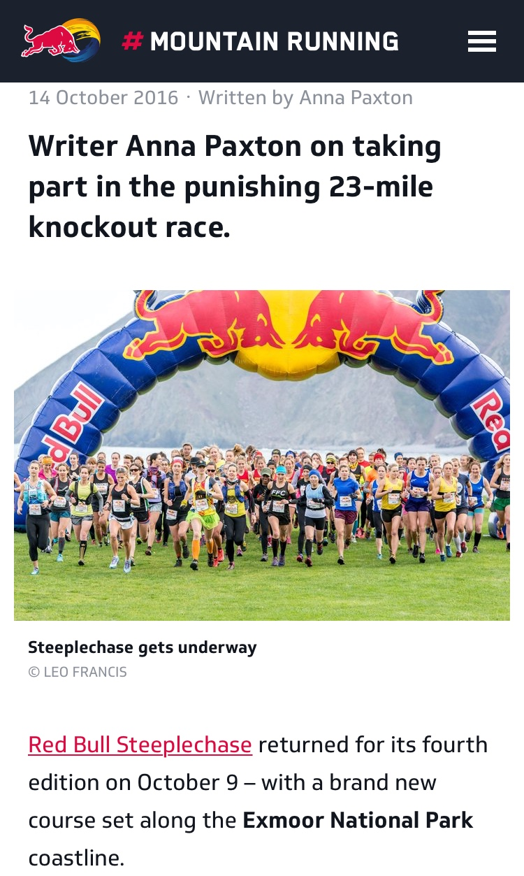 Journalist - Red Bull Steeplechase