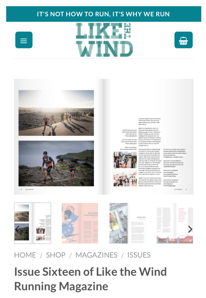 Contributor - Like The Wind Magazine