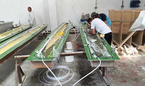 Foiling 101 building process