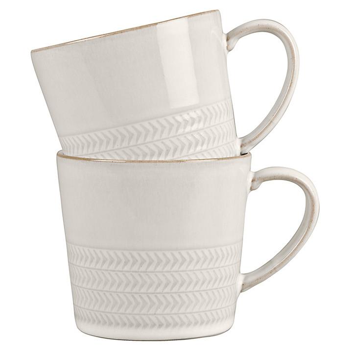 Denby Textured Mugs £28.00 at John Lewis