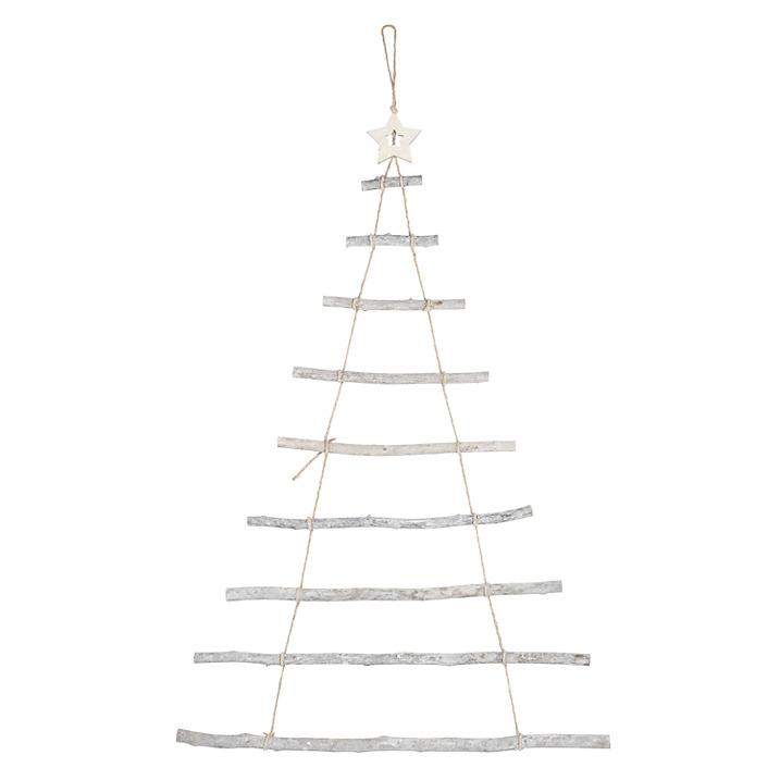 Whitewash Wooden Tree Ladder £10.00 at John Lewis