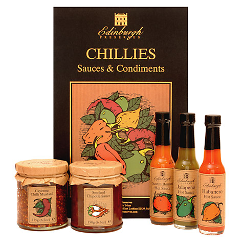 Edinburgh Preserves Chilli Box £15 at John Lewis