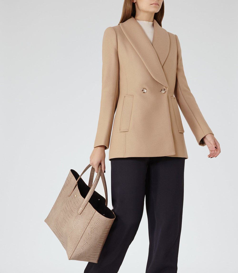 Reiss Sale Camel Jacket