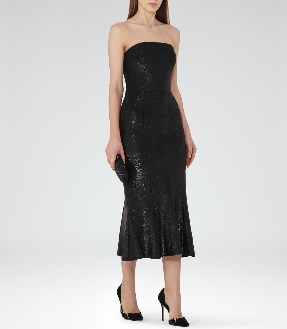 Reiss Sequin Dress