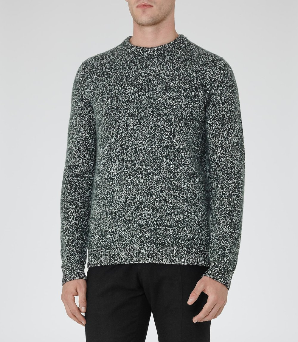 Green Reiss Sale Jumper