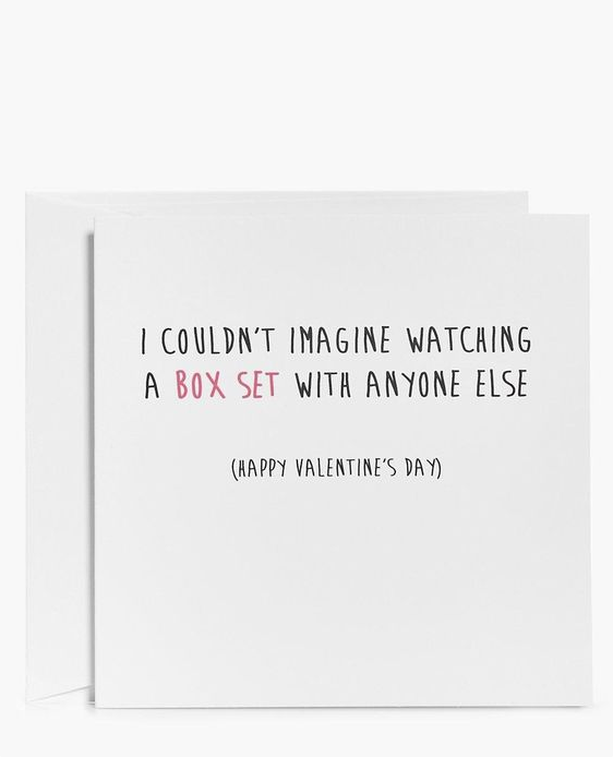 Valentines Day Card at Boohoo