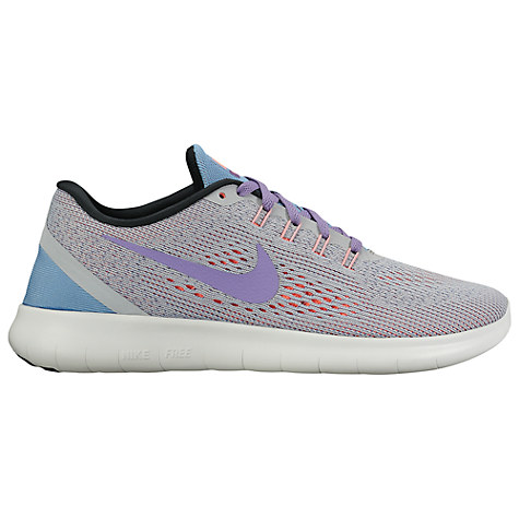 NIKE FREE RN Wolf Grey/Purple Earth £90.00