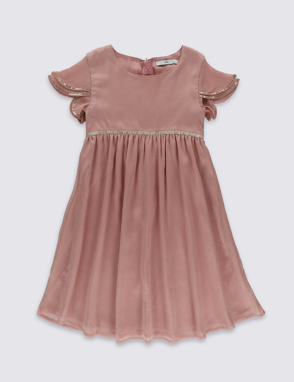 Chiffon Dress at M&S