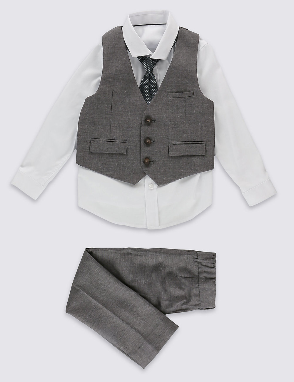 4 Piece Outfit (1-5 years) at M&S