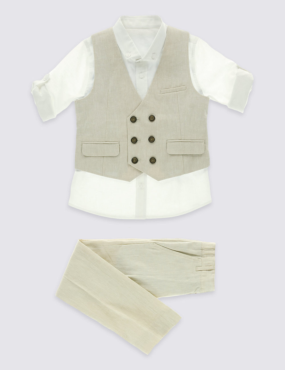 3 Piece Waistcoat Outfit (3 months-5 Years)