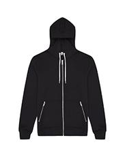 REISS   Zip front hoodie