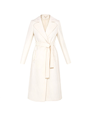 TED BAKER  Ivory wrap coat