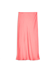 TOPSHOP  Pink Satin Skirt