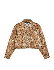 TOPSHOP  Printed Western Jacket