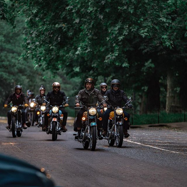 B I G highlight - Royal Enfield shoot through the capital 🏍 Chase bike. Say no more. . We've got some epic highlights coming and some BTS so stay tuned! . . . . _ #ironandair #royalenfieldclassic #royalenfieldmotorcycles #royalenfieldlovers #royalenfield #bulletlovers #brandfilm #liveactiondirector #cameraoperator #shootingdirector