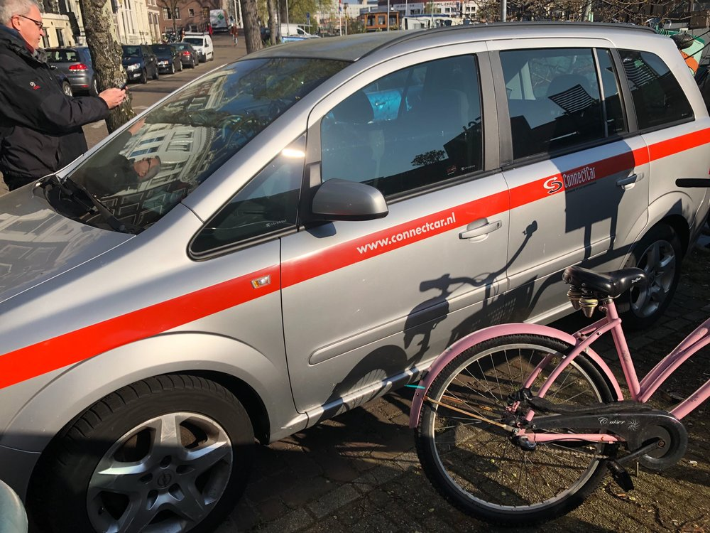Amsterdam's sharing mobility solutions.
