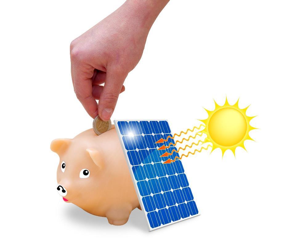 Strom wird immer teurer. Sparen Sie indem Sie ihr eigener Stromproduzent werden!