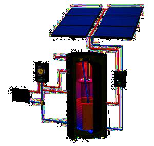 COMBI line Solarheizsystem von Wagner Solar