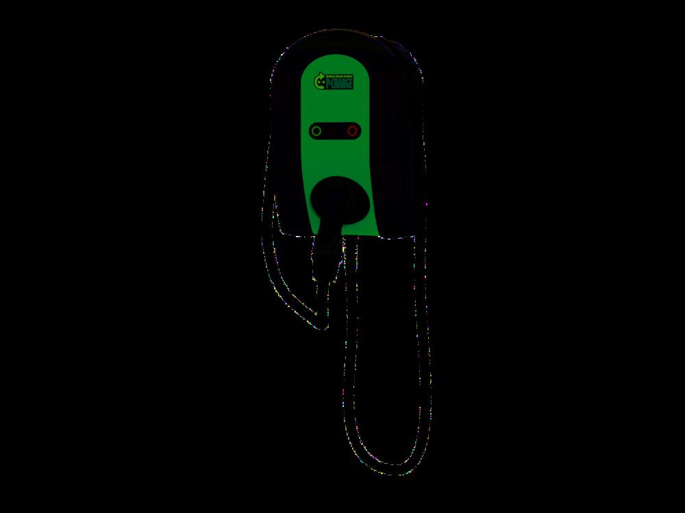 Wallbox Mono mit Ladeleitung und Stecker Typ 2