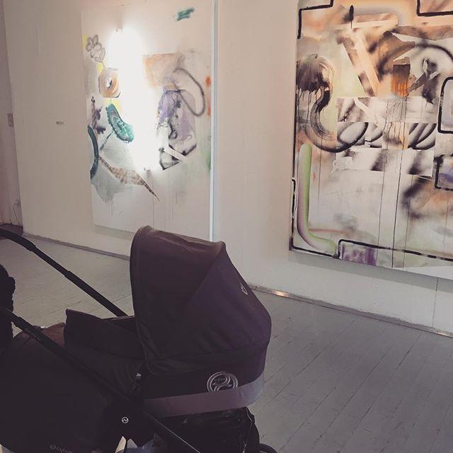 #nevertoearlytostart #babyartvisitor #START5 #emergingartistssothtyrol #exploringwithfinn #y_contemporary #artnowsüdtirol @SKB #südtirolerkünstlerbund