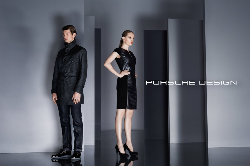 For my campaign for Porsche Design I wanted to mimick the feeling of a midnight pool party.
