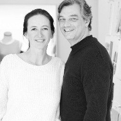 Glenda Scipio & Stephan Fahning, Founders of fashion label  Stephan Boya ,