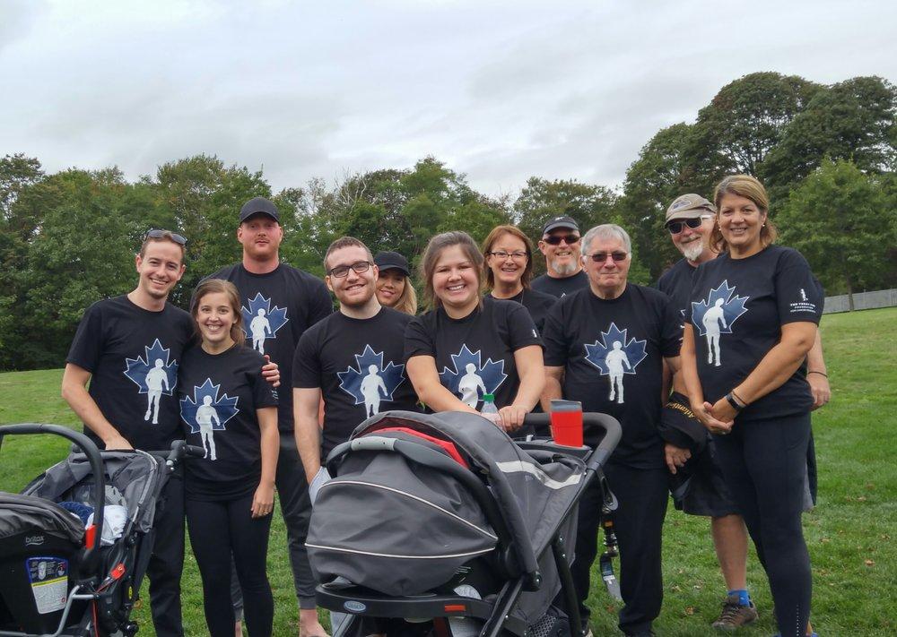 API Team at the Charlottetown Terry Fox Run 2017