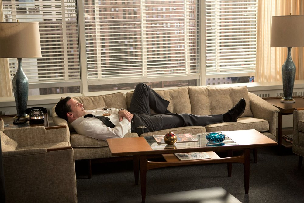 Scene from AMC's  Mad Men