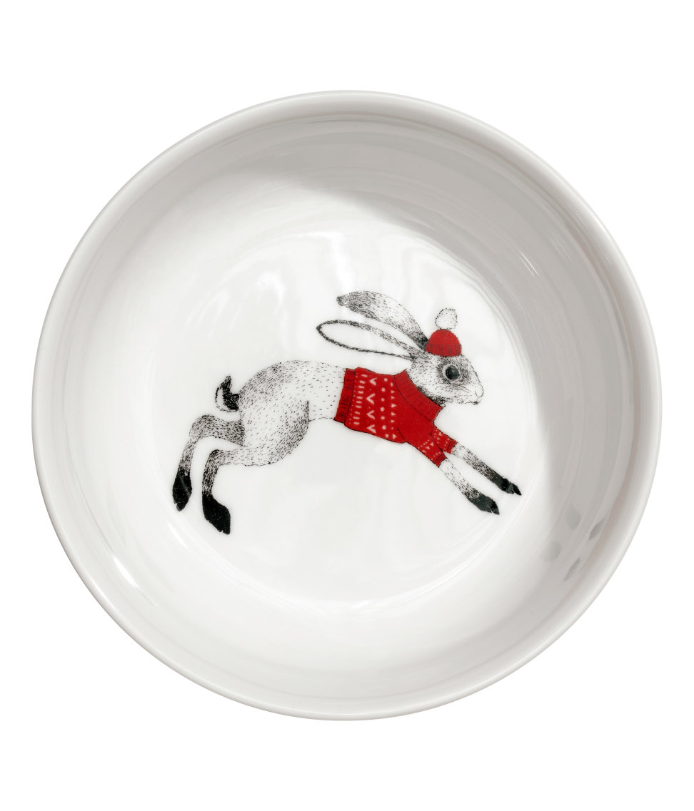 Christmas-motif Porcelain Bowl